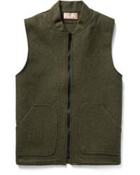 Chaleco de abrigo de lana