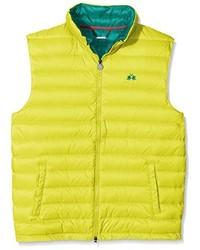 Chaleco de abrigo en amarillo verdoso de La Martina