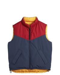 Chaleco de abrigo en multicolor de Burberry