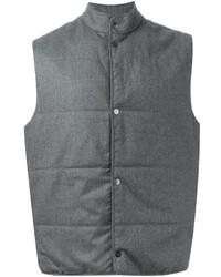 Chaleco de abrigo gris de Paul Smith
