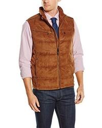 Chaleco de abrigo marrón de Pedro del Hierro