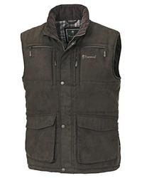 Chaleco de abrigo marrón de Pinewood