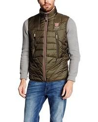 Chaleco de abrigo marrón de Valecuatro