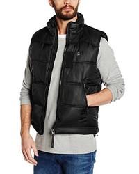 Chaleco de abrigo negro de G-Star RAW