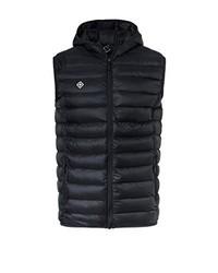 Chaleco de abrigo negro de Izas