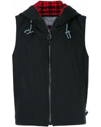 Chaleco de abrigo negro de Lanvin