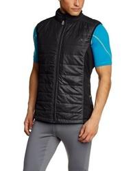 Chaleco de abrigo negro de maier sports