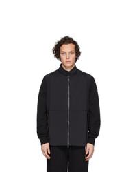 Chaleco de abrigo negro de Moncler