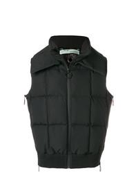 Chaleco de abrigo negro de Off-White