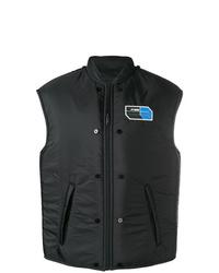 Chaleco de abrigo negro de Prada