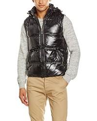 Chaleco de abrigo negro de Young & Rich