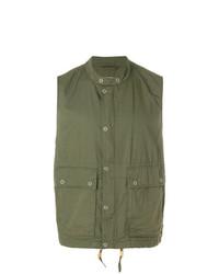 Chaleco de abrigo verde oliva de Engineered Garments