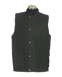 Chaleco de abrigo verde oscuro de Jack Daw