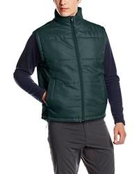 Chaleco de abrigo verde oscuro de Result