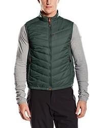 Chaleco de abrigo verde oscuro de Salewa