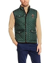 Chaleco de abrigo verde oscuro de Valecuatro
