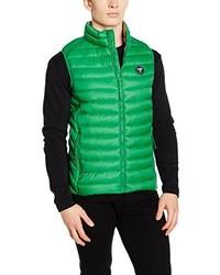 Chaleco de abrigo verde de Puffa Country Sports