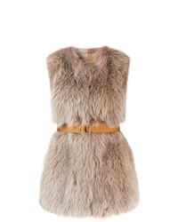 Comprar una ropa de abrigo de pelo marrón claro  elegir ropas de ... 6a5109a4eaff