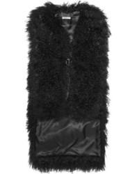 Chaleco de Pelo Negro de Givenchy
