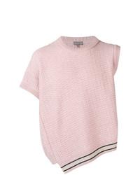 Chaleco de punto rosado de Lanvin