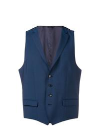 Chaleco de vestir azul marino de BOSS HUGO BOSS
