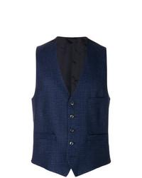 Chaleco de vestir azul marino de Lardini