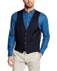 Chaleco de vestir azul de Roy Robson