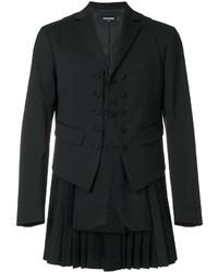 Chaleco de vestir de lana negro de DSQUARED2