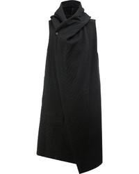 Chaleco de vestir de lana negro de Masnada