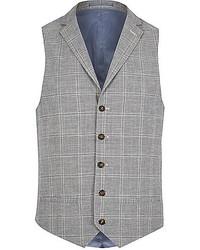 Chaleco de vestir de tartan original 660642