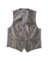 Chaleco de vestir en gris oscuro de Monti