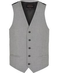 Chaleco de vestir gris original 659736