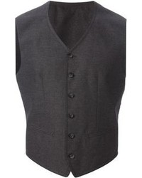 Chaleco de vestir gris oscuro original 2174451