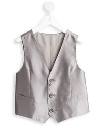 Chaleco de vestir gris de Dolce & Gabbana