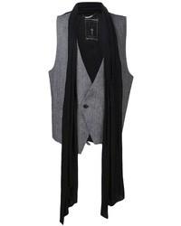 Chaleco de vestir gris de Religion