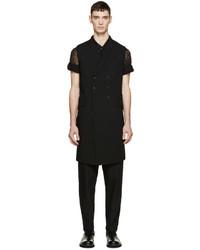 Chaleco de vestir negro de Ann Demeulemeester