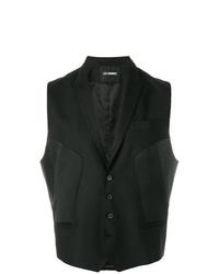 Chaleco de vestir negro de Les Hommes