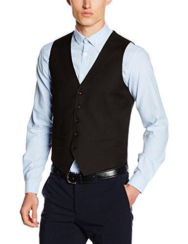 Chaleco de vestir negro de Lindbergh