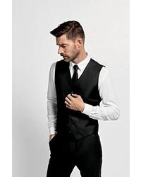 Chaleco de vestir negro de Selected