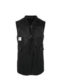Chaleco de vestir negro de Takahiromiyashita The Soloist