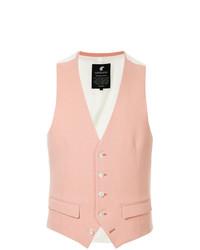Chaleco de vestir rosado de Loveless