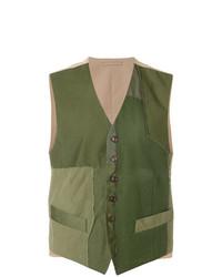Chaleco de vestir verde oliva de Fortela