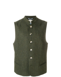 Chaleco de vestir verde oliva de Holland & Holland
