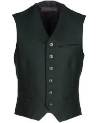 Chaleco de vestir verde oscuro