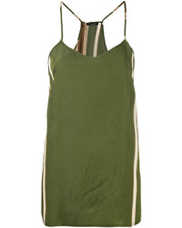 Chaleco verde oliva de Roberto Collina