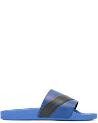 Chanclas azules de Diesel