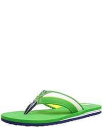 Chanclas verdes