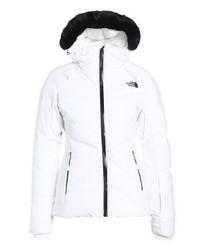 chaqueta north face mujer blanca