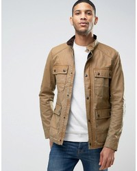 Chaqueta campo marrón claro de Jack and Jones