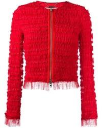 Chaqueta con Adornos Roja de Givenchy